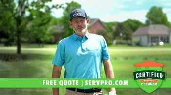 SERVPRO TV Spot, 'Back Into the Swing of Things' Featuring Brandt Snedeker