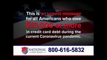 National Debt Relief Debt Reset Program TV Spot, 'COVID-19 Urgent Message' - Thumbnail 1