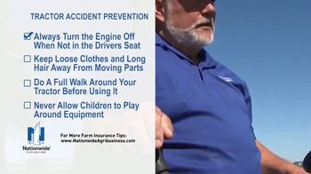Nationwide Agribusiness TV Spot, 'Tractor Accident Prevention Tips' - Thumbnail 5