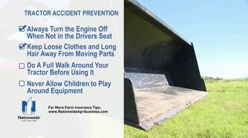 Nationwide Agribusiness TV Spot, 'Tractor Accident Prevention Tips' - Thumbnail 6