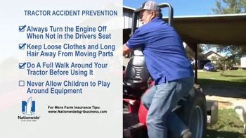 Nationwide Agribusiness TV Spot, 'Tractor Accident Prevention Tips' - Thumbnail 7