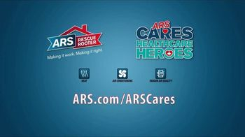 ARS Rescue Rooter TV Spot, 'ARS Cares: Healthcare Heroes' - Thumbnail 9