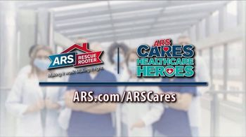ARS Rescue Rooter TV Spot, 'ARS Cares: Healthcare Heroes' - Thumbnail 7