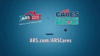 ARS Rescue Rooter TV Spot, 'ARS Cares: Healthcare Heroes' - Thumbnail 8