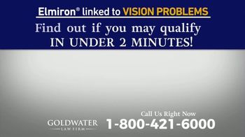 Goldwater Law Firm TV Spot, 'Elmiron: Vision Problems' - Thumbnail 6