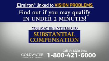 Goldwater Law Firm TV Spot, 'Elmiron: Vision Problems' - Thumbnail 7