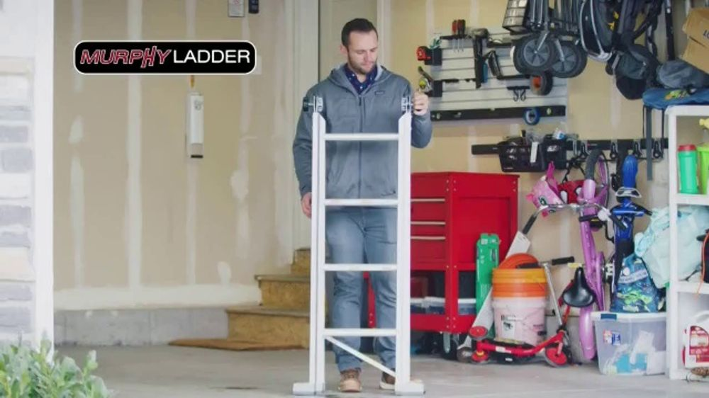 Murphy Ladder TV Commercial, 'Easy to Carry'