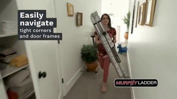 Murphy Ladder TV Spot, 'Lightweight and Portable' - Thumbnail 4