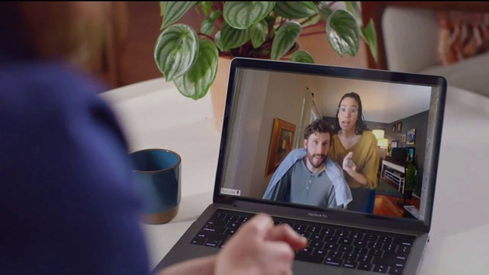 AT&T Fiber TV Commercial, 'Working From Home: More Bandwidth and AT&T TV: Haircut Tutorial'