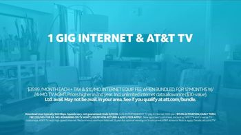 AT&T Fiber TV Spot, 'Working From Home: More Bandwidth and AT&T TV: Haircut Tutorial' - Thumbnail 9