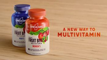 One A Day Natural Fruit Bites Multivitamin TV Spot, 'A New Way to Multivitamin' - Thumbnail 9