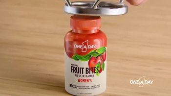 One A Day Natural Fruit Bites Multivitamin TV Spot, 'A New Way to Multivitamin'