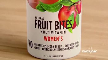 One A Day Natural Fruit Bites Multivitamin TV Spot, 'A New Way to Multivitamin' - Thumbnail 8