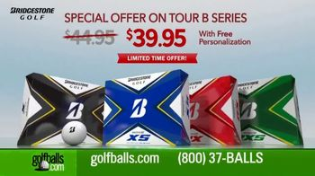 Golfballs.com TV Spot, 'Bridgestone Tour B Series: $39.95 & Free Personalization' Feat. Tiger Woods - Thumbnail 3