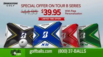 Golfballs.com TV Spot, 'Bridgestone Tour B Series: $39.95 & Free Personalization' Feat. Tiger Woods - Thumbnail 4