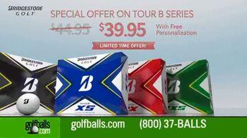 Golfballs.com TV Spot, 'Bridgestone Tour B Series: $39.95 & Free Personalization' Feat. Tiger Woods - Thumbnail 5