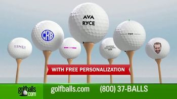 Golfballs.com TV Spot, 'Bridgestone Tour B Series: $39.95 & Free Personalization' Feat. Tiger Woods - Thumbnail 7