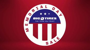 Big O Tires Memorial Day Sale TV Spot, 'Big Deals'