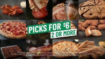 Papa John's Picks for $6 TV Spot, 'Coming up With Names' - Thumbnail 5