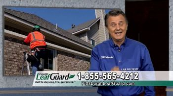 LeafGuard of Pittsburgh $99 Install Sale TV Spot, 'Old Gutters' - Thumbnail 9