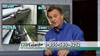 LeafGuard of Pittsburgh $99 Install Sale TV Spot, 'Old Gutters' - Thumbnail 3