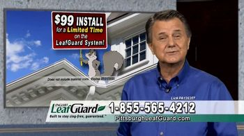 LeafGuard of Pittsburgh $99 Install Sale TV Spot, 'Old Gutters' - 24 commercial airings