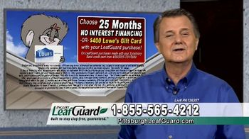 LeafGuard of Pittsburgh $99 Install Sale TV Spot, 'Old Gutters' - Thumbnail 7