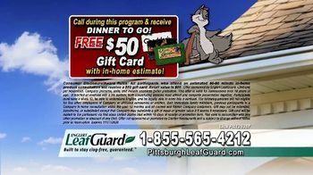 LeafGuard of Pittsburgh $99 Install Sale TV Spot, 'Old Gutters' - Thumbnail 8