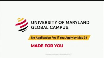 University of Maryland Global Campus TV Spot, 'Persevere: No Application Fee' - Thumbnail 10
