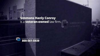 Simmons Hanly Conroy TV Spot, 'Veterans: Mesothelioma'