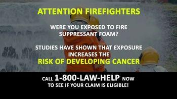 1-800-LAW-HELP TV Spot, 'Fire Suppressant Foam'