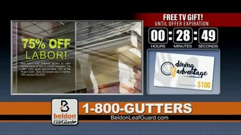 Beldon LeafGuard TV Spot, 'Extra Layer of Protection Against Water Damage' - Thumbnail 8
