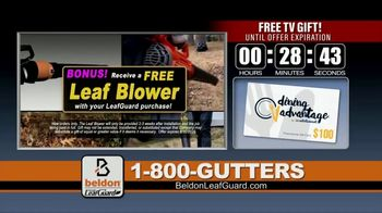 Beldon LeafGuard TV Spot, 'Extra Layer of Protection Against Water Damage' - Thumbnail 9