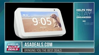 America's Steals & Deals TV Spot, 'Echo Show 5' Featuring Genevieve Gorder - Thumbnail 4