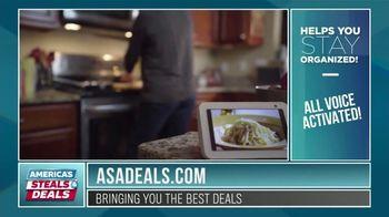 America's Steals & Deals TV Spot, 'Echo Show 5' Featuring Genevieve Gorder - Thumbnail 5