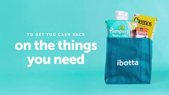 Ibotta TV Spot, 'Cash Back on the Things You Need'
