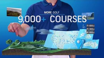 GolfPass TV Spot, 'Get More: 9,000 Courses'