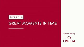 OMEGA TV Spot, 'Ryder Cup Great Moments in Time: Tough Holes' Featuring Tommy Fleetwood - Thumbnail 1