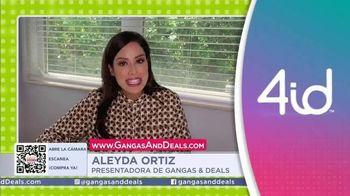 Gangas & Deals TV Spot, '4id' con Aleyda Ortiz [Spanish]
