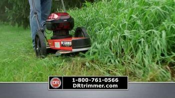 DR Power Equipment Trimmer Mower TV Spot, 'Walk or Ride'