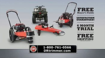 DR Power Equipment Trimmer Mower TV Spot, 'Walk or Ride' - Thumbnail 10