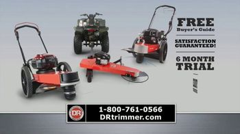 DR Power Equipment Trimmer Mower TV Spot, 'Walk or Ride' - Thumbnail 7