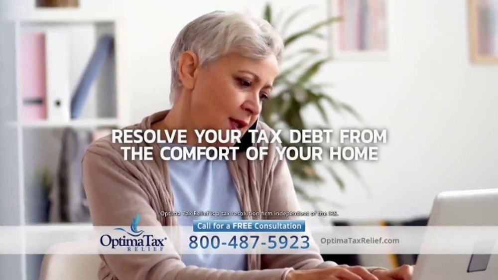 Optima Tax Relief TV Commercial, 'Uncertain Times'