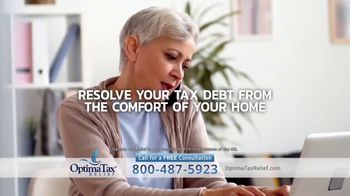 Optima Tax Relief TV Spot, 'Uncertain Times'