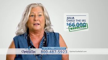 Optima Tax Relief TV Spot, 'Uncertain Times' - Thumbnail 8