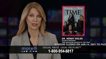 Morelli Law Firm TV Spot, 'Sexual Abuse Legal Helpline'