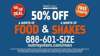 Nutrisystem for Men 50/50 Deal TV Spot, 'Eat Real Food' - Thumbnail 7