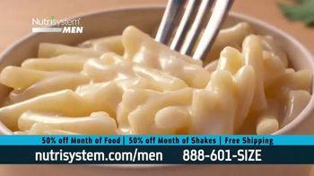 Nutrisystem for Men 50/50 Deal TV Spot, 'Eat Real Food' - Thumbnail 4
