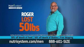 Nutrisystem for Men 50/50 Deal TV Spot, 'Eat Real Food' - Thumbnail 5