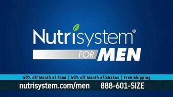Nutrisystem for Men 50/50 Deal TV Spot, 'Eat Real Food' - Thumbnail 6